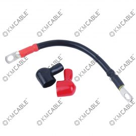 4 GAUGE Battery cable,100% Pure copper Red Black, 3/8 inch Lug Assembly